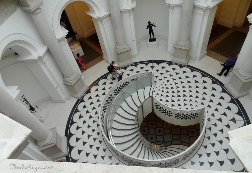Wonderful stairs - TATE Britain Museum, London by Cloudwhisperer67