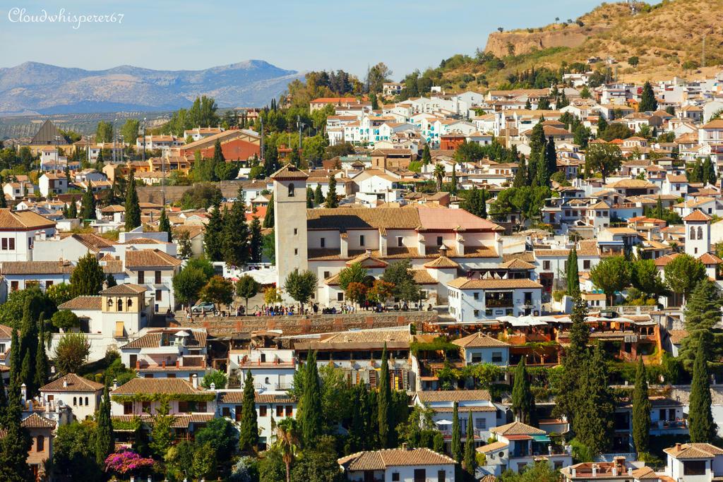 Amazing summer in Granada - Spain by Cloudwhisperer67