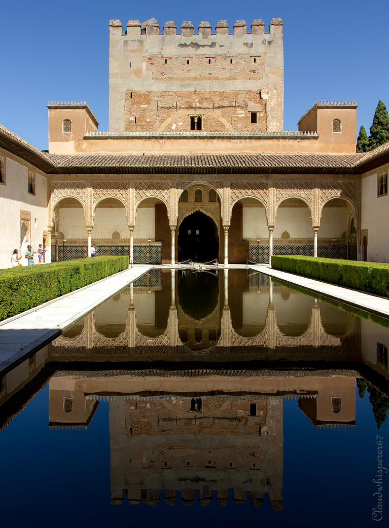 The Alhambra Palace - Granada by Cloudwhisperer67