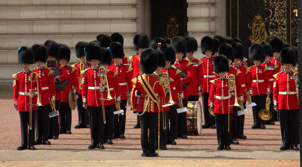 Changing the Guard - Buckingham Palace Summer 2014
