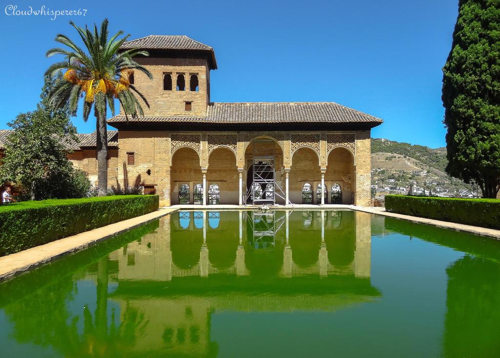 Beyond Green, Below Blue - Alhambra, Granada by Cloudwhisperer67