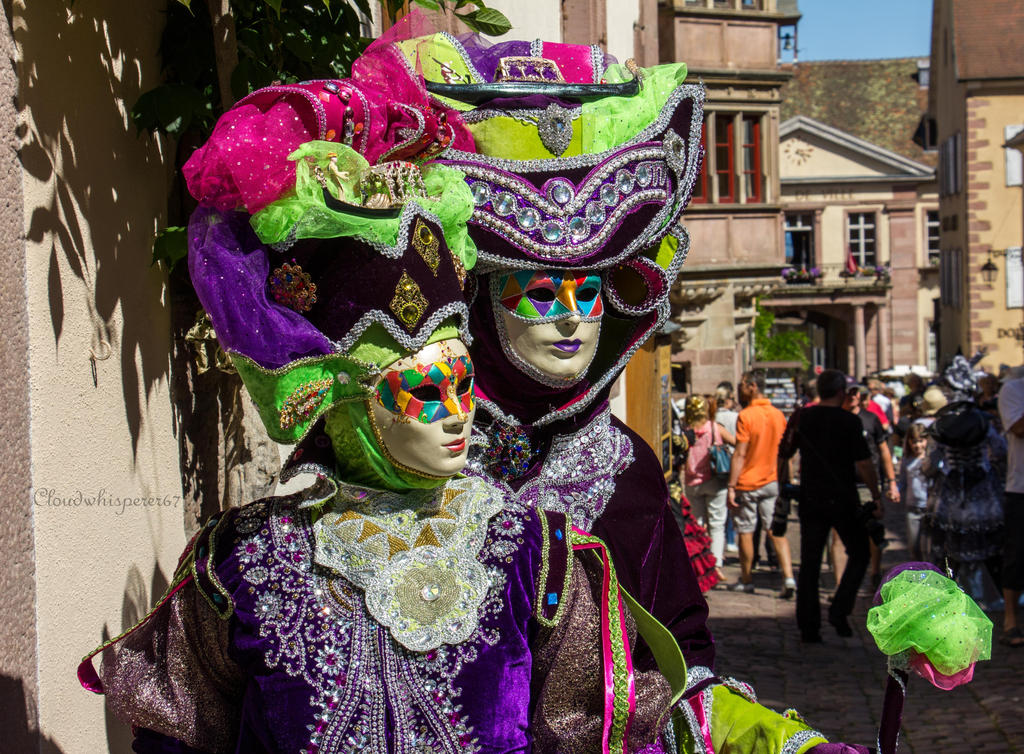 Venice Parade in Riquewihr 2015 by Cloudwhisperer67