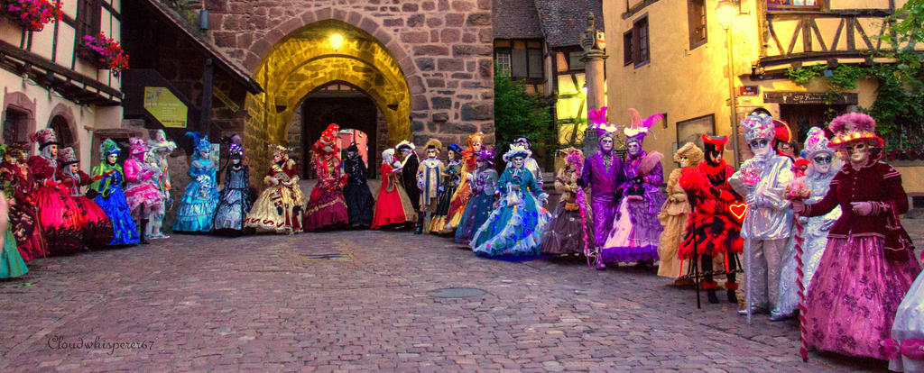 Venice Parade in Riquewihr 2015 (4) by Cloudwhisperer67