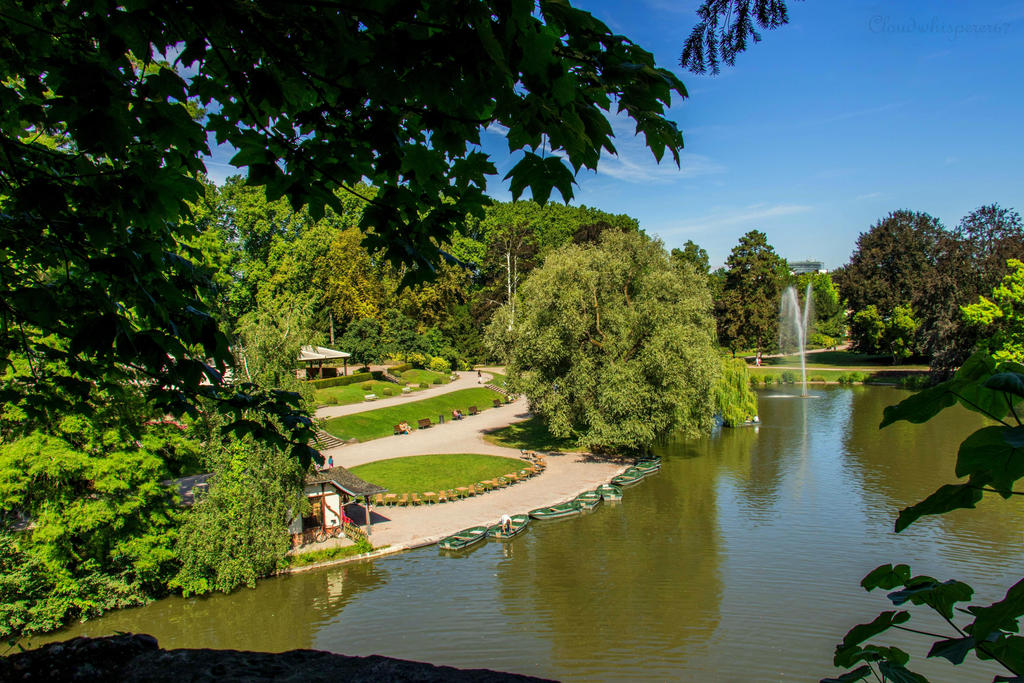 Fifty Shades of Green - Parc de l'Orangerie by Cloudwhisperer67
