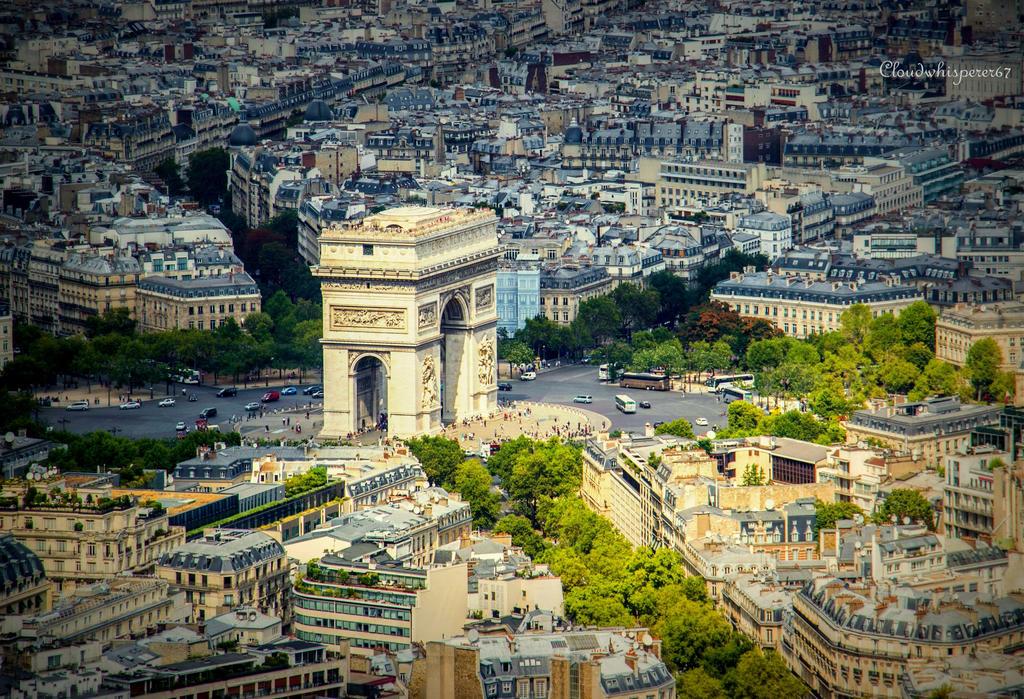 Arc de Triomphe - Paris by Cloudwhisperer67