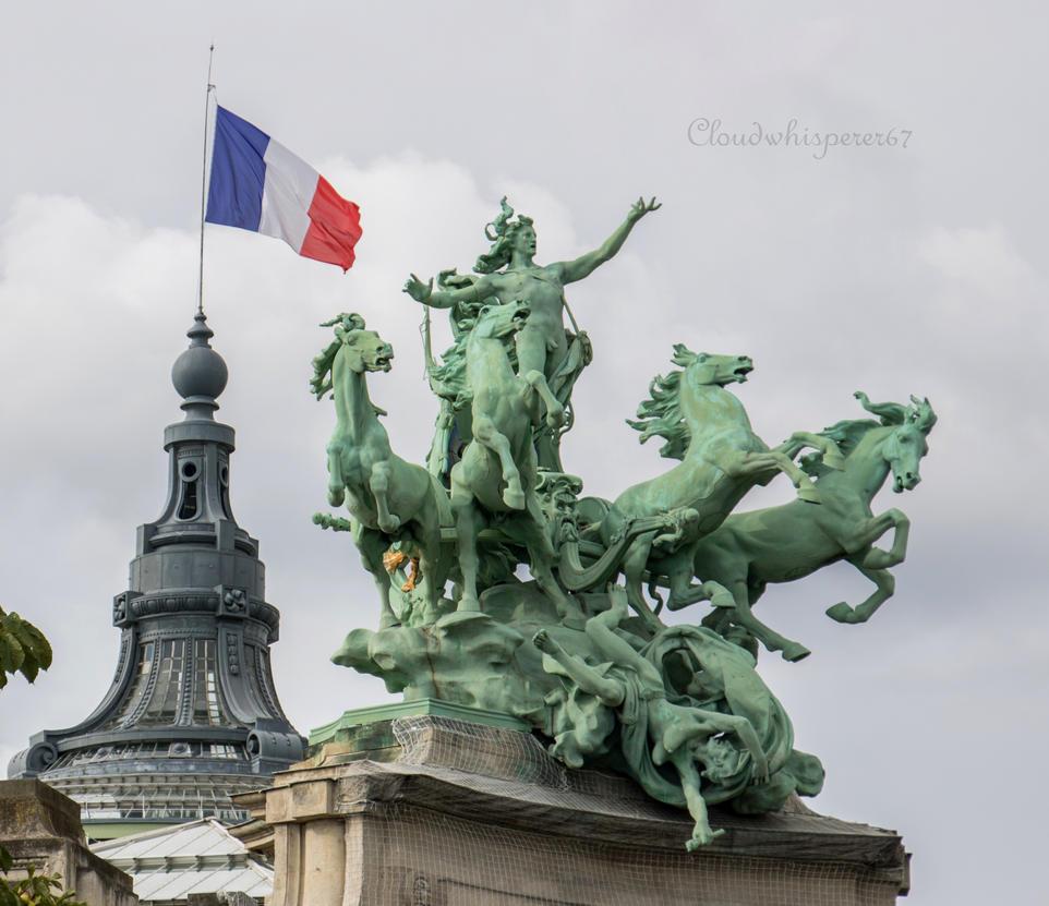 Vive la France, vive la Liberte! by Cloudwhisperer67