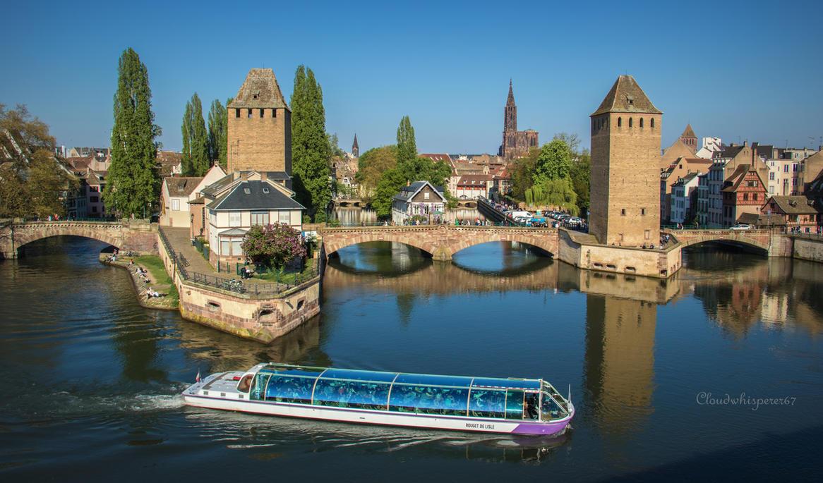 Summer in April... Strasbourg 2017 (2) by Cloudwhisperer67