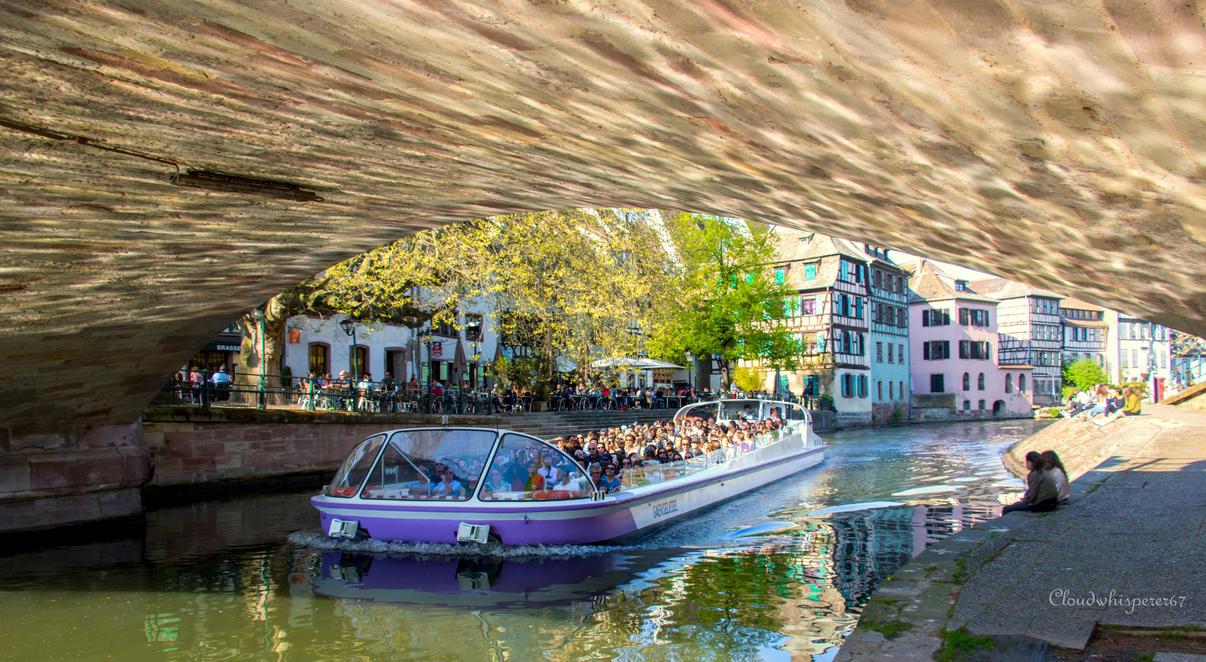 Summer in April... Strasbourg 2017 (3) by Cloudwhisperer67