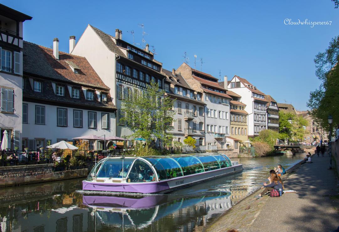 Summer in April... Strasbourg 2017 (4) by Cloudwhisperer67
