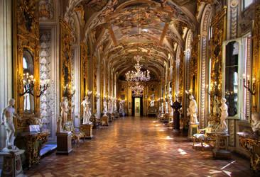 Palazzo Doria Pamphilj - Rome Italy by Cloudwhisperer67