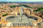 Saint Peter's Square - Vatican - Tiltshift