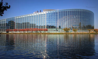 European Parliament - Strasbourg, France - oct2018 by Cloudwhisperer67