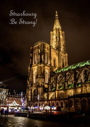 Strasbourg Be Strong by Cloudwhisperer67