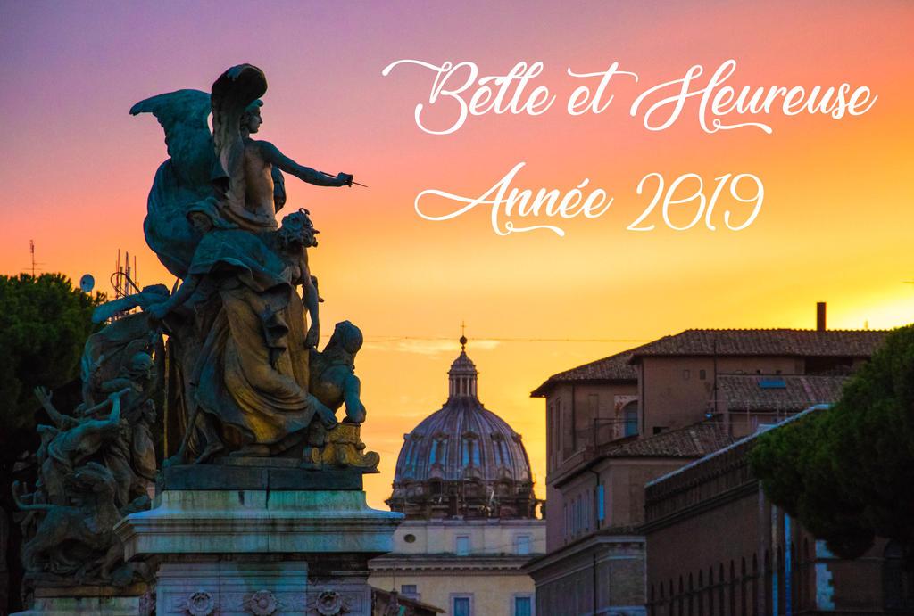 Happy New Year 2019 Belle et Heureuse Annee 2019 by Cloudwhisperer67