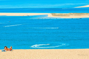 White Sand and Turquoise Ocean