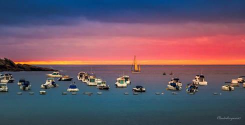 Dawn in San Sebastian