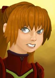 Asuka from Neon Genesis Evangelion by Orimoth