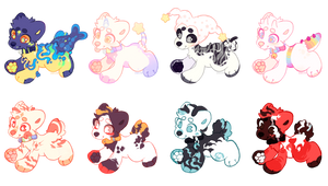 puppy adopts pack  open 4\8