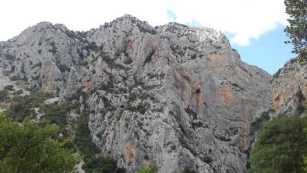 Gorropu's mountain