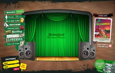 Heinken Virtual Venue by birofunk