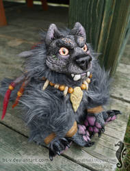 Spirit of the Forest II - OOAK doll