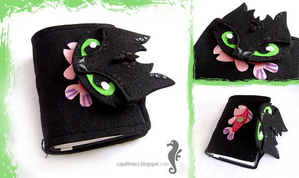 Journal with Toothless