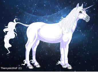 WIP Magic Unicorn by TheMysticWolf