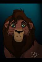 Lion King Kovu by TheMysticWolf
