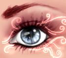 Eye glow by TheMysticWolf