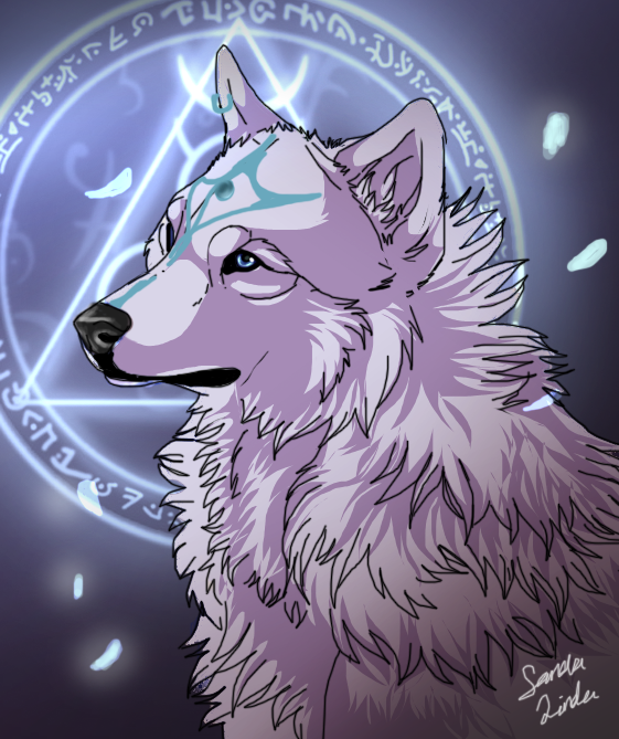 Unknown x Aurora Falling_down_by_themysticwolf-d3ft7nd