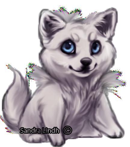 Chibi Wolf By Themysticwolf On Deviantart