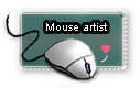 Mouse artist stamp by TheMysticWolf
