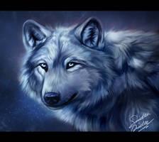 wolf eyes by TheMysticWolf