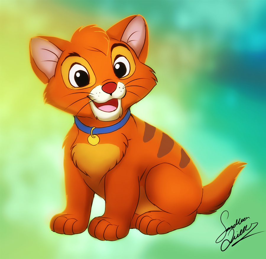 Oliver The Cat And Dog Disney