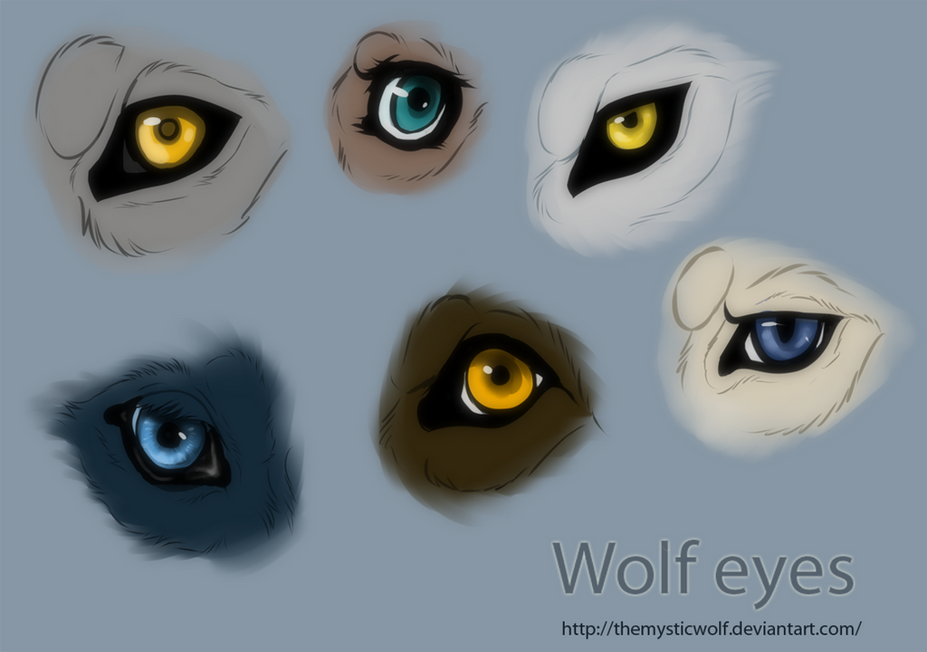 Wolf eyes by themysticwolf on deviantart wolf eyes by themysticwolf ccuart Image collections