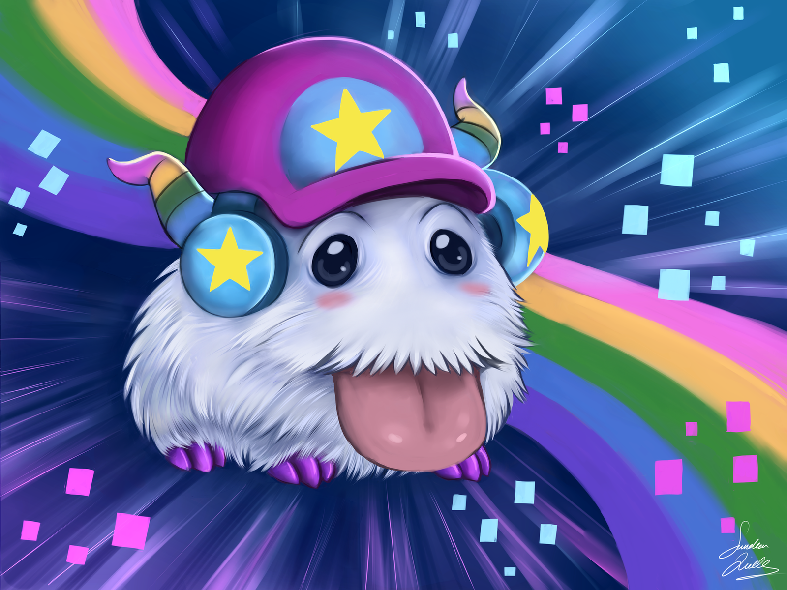 league of legends Poro arcade by TheMysticWolf on DeviantArt