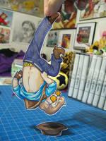 Sniper Paper Child by DigitalDuckie