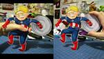 Captain America paperchild