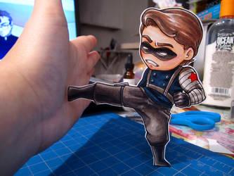 Winter Soldier Paper Child by DigitalDuckie