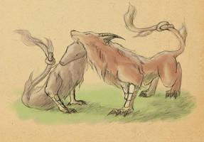 Dragon Tome - Alphyn by NexusWolf