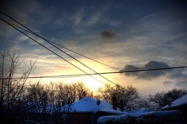 Suburbian Sunset by Jay-san1292