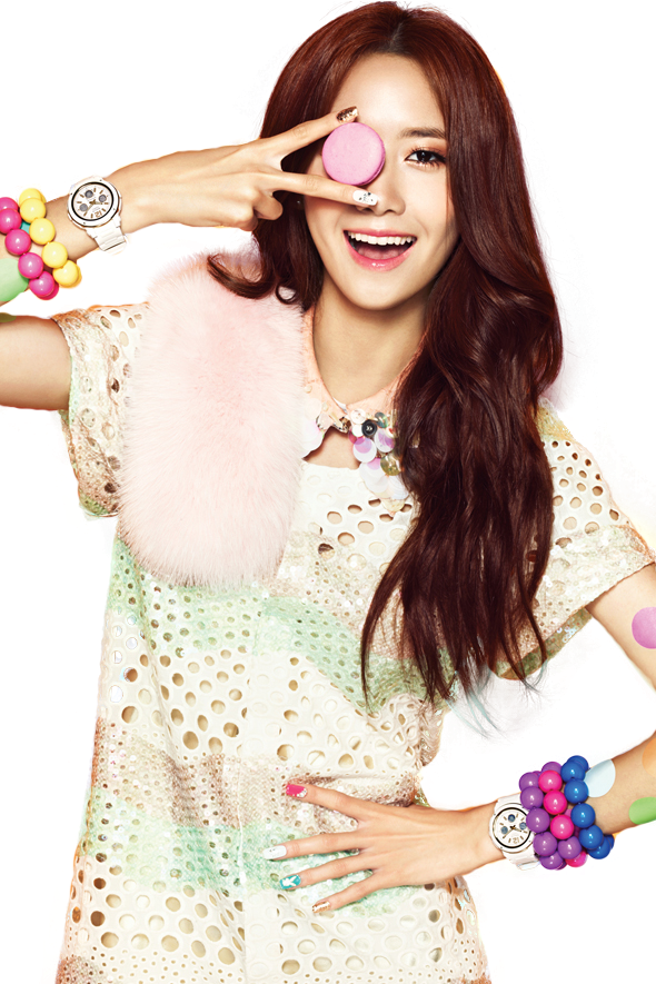 YoonA (SNSD) Casio png [render] by Sellscarol