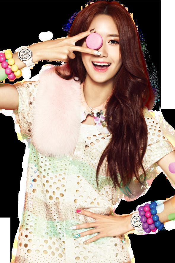 YoonA (SNSD) Casio png [render] by Sellscarol