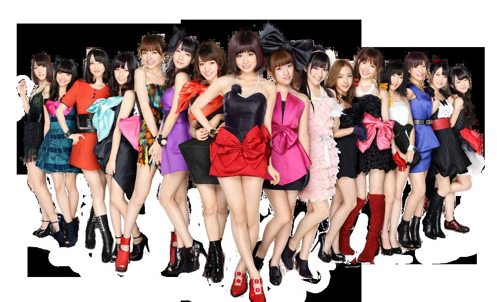 AKB48 png [render] by Sellscarol