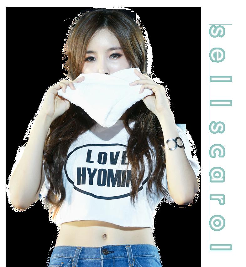 Hyomin (T-ara) PNG [render] by Sellscarol