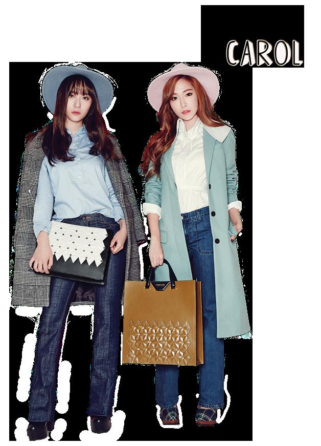 Jessica and Krystal Jung PNG [render] by Sellscarol