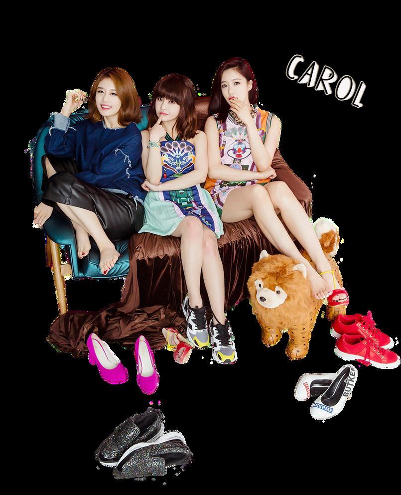 Jiyeon,Boram and Eunjung [T-ara] render [PNG] by Sellscarol