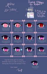 Anime Eye Tutorial by Iseanna