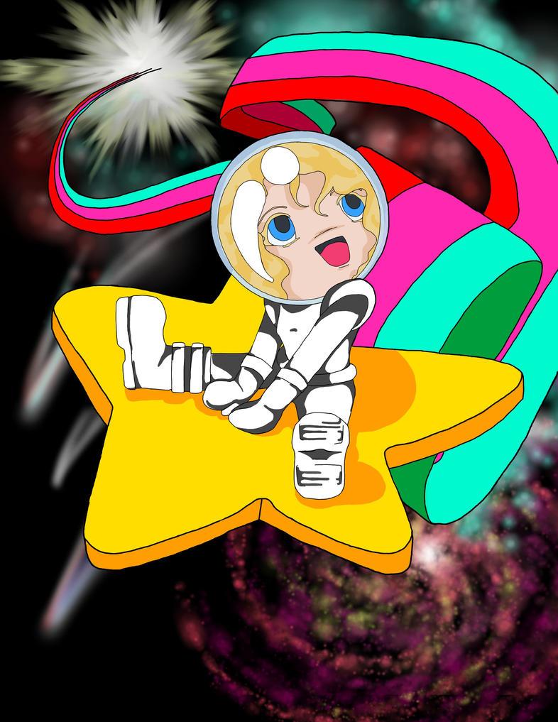 Space traveler by Eilasor