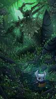Hollow Knight - Greenpath by TimeLordJikan